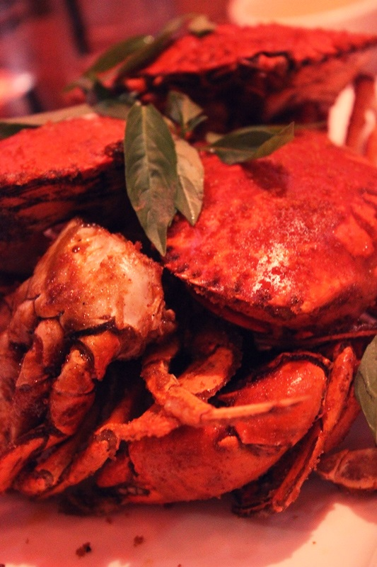 Baked Crabs with special sauce