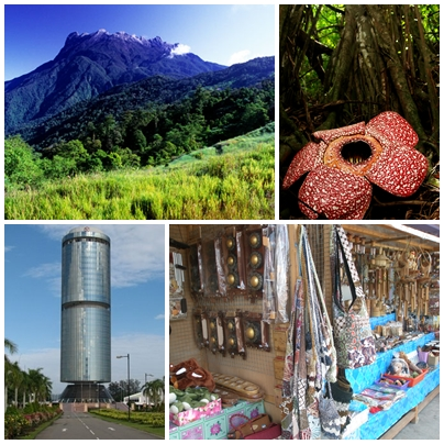Attractions in Sabah