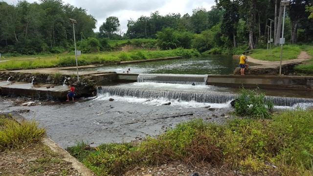 River at Kampung Mongkos
