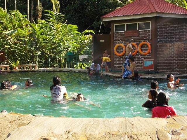 Take a refreshing dip at Poring Hot Spring