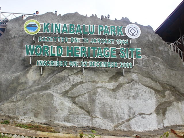 Kinabalu Park, one of the famous UNESCO World Heritage Site