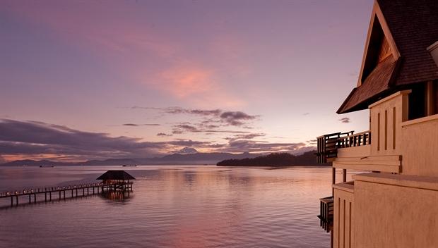 Sunset at Gaya Island